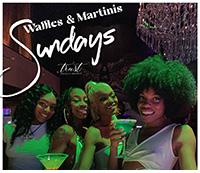 Sunday Waffles & Martinis